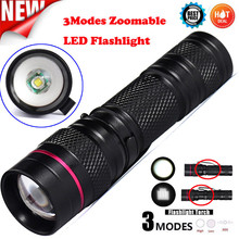New Bicycle Bike Light Q5 LED 3Modes AA/14500 ZOOMABLE Flashlight Torch Lamp Super Bright Variable Focus Waterproof Performance