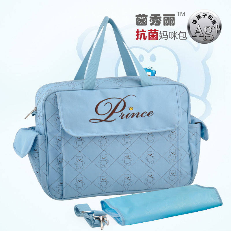 Designer Baby Diaper Bag Cute Nappy Tote for Stroller Mothers Maternity Bag Large Capacity Chaning Bag Baby Care<br>
