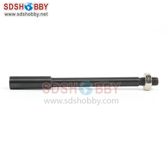 Drive shaft with screw In reverse Length=62mm Dia-A=4mm  Dia-B=5.3mm Side=3.5X3.5mm<br><br>Aliexpress