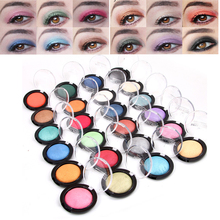 24 Colors Baked Eyeshadow Professional Nude Palette Shimmer Glitter Metallic Eyes Makeup Waterproof Eye Shadow for Women Make Up