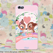 161X bambi Hard Transparent Cover Case for Huawei P9 Lite Plus P8 Lite P7 P6 & Honor 4X 4C 6 7 G7