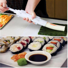 Sushi Making Tools Set Creative DIY Rice Mold Sushi Maker Roller Kit Kitchen Sushi Rolls Made Easy WL099