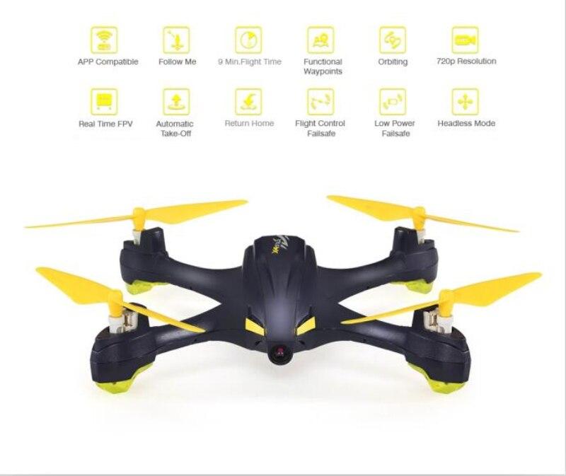 New WIFI FPV Selfie rc drone X4 H507A Star 720P camera Follow Me Way Point GPS One-Key Return APP control RC Quadcopter vs X252