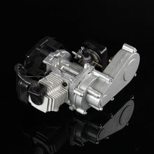 43cc 47cc 49cc 2 STROKE ENGINE WITH Gear Box ,Aluminum Pull Starter for MOTOR MINI QUAD ROCKET POCKET BIKE Four-wheel beach(China)