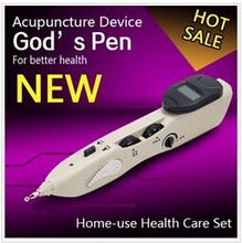 2016 Rechargeable Health Auto Get Point Acupuncture Device Electric Chinese Acupuncture Pen Acupuncture Device Therapy Massage