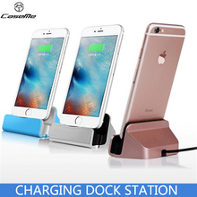 Buy Original Sync Data Charging Dock Station Cellphone Desktop Docking Charger USB Cable iPhone 7 6s Plus 5 5S 5C SE for $4.99 in AliExpress store