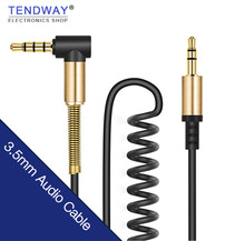 3.5mm Male Male Audio Cable Jack 3 5 Aux Cable Speaker Headphone iPhone Samsung Car MP3 / 4 Mobile Phone Aux Cord Wire