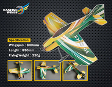 EPO Airplane Model 3D Click 3D Airplane Wingspan 800mm Radio Control RC Model Plane aircraft