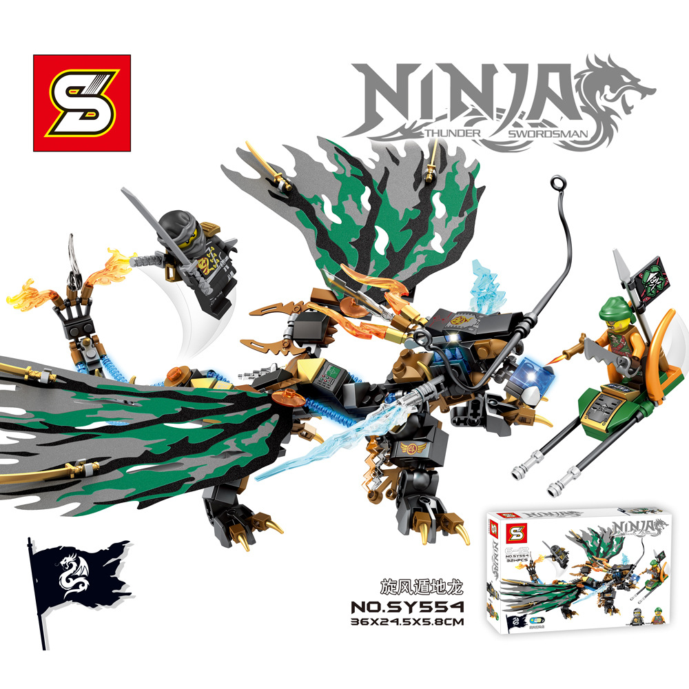 SY554 Building Blocks Ninjagoes Bricks Minifiures Thunder Lightening Flying Pirate Zanes Dragon Toys Christmas Gift For Kids<br><br>Aliexpress