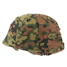 WWII WW2 German ELITE ARMY Spring And Fall Oak Camo M35 Reversible Helmet COVER