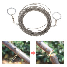 10M Survival Wire Saw Cutter Outdoor Emergency Fretsaw Camping Hunting Wire Saw Survival Tool Stainless Steel Climbing Gear(China)