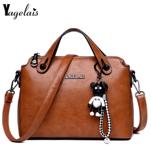 Buy Lady Style Women Clutch Leather Pillow Handbags Single Strap Shoulder Bags Fashion Crossbody Bags Soft Fashion Womens Handbags for $24.90 in AliExpress store