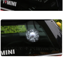 Funny 3D Car Sticker Golf Hit Window For Ford Focus Volkswagen Skoda Polo Bmw Audi Renault Opel Toyota Mercedes peugeot 307 206