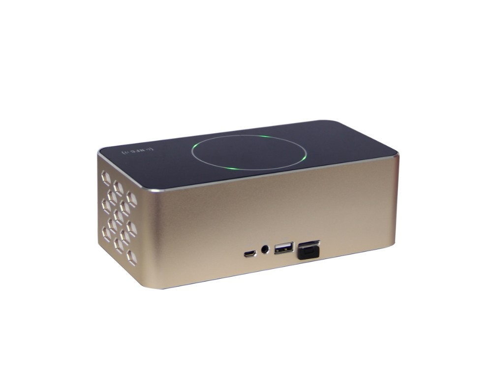 KR-8200A NFC Gesture Control Mode refresh Fast Recharge portable Wireless mini Bluetooth Speaker 3D surround support USB TF FM