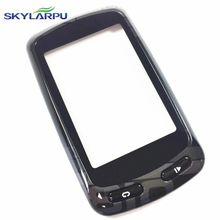 skylarpu Capacitive Touchscreen for Garmin Edge 810 GPS Bike Computer Touch screen digitizer panel (with Black frame)(China)