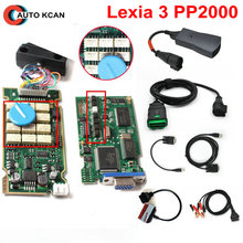 Serial 921815C PP2000 Lexia 3 For Citroen For Peugeot  Full Chip PP2000 V25 Lexia3 V48 Diagbox 7.83 With Psa 30pin