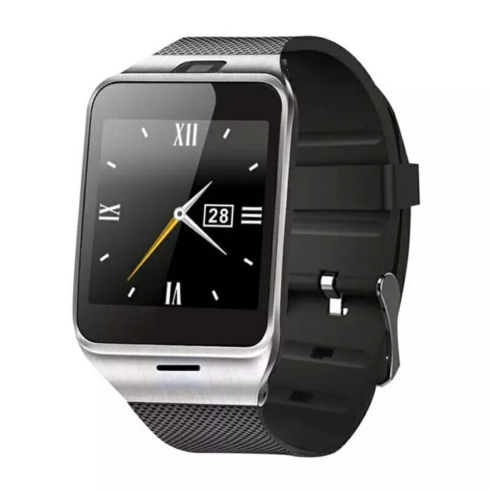 Splendid GV18 Bluetooth Smart Watch phone GSM NFC Camera Waterproof wristwatch for Samsung for iPhone<br>
