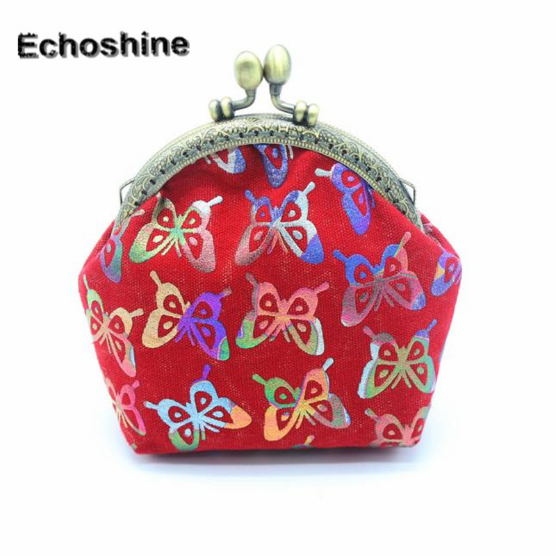 2016 hot sale and high quality Women Lady Retro Vintage Butterfly Small Wallet Hasp Purse Clutch Bag free shipping wholesale <br><br>Aliexpress