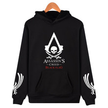 New Famous Game Assassins Creed Design Hoodies Men & Women Unisex Hooded Sweatshirt Hip Hop Streetwear Plus Size Brand Clothing(China)