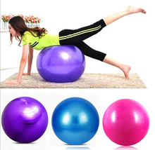 New Hot 55cm Yoga Ball Fitness Ball Core Yoga Exercise Gym Workout Abdominal Proof Balls Anti-slip for Fitness With Pump Balls(China)