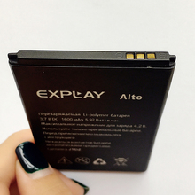 Best Quality New Original For Explay Alto Safe Mobile Phone Battery 3.7V 1600mAh 5.92Wh li-polymer Replacement batterie in stock