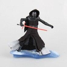 17cm Anime figure star war kyloren action figure collectible model toys boys