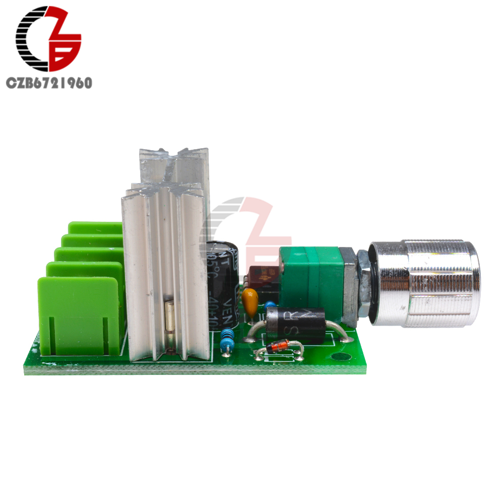 High Power 6A 6V-12V PWM No-Polarity DC Motor Speed Regulator Controller Board Speed Motor Control Switch Board 9