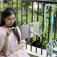 100cm Long Arm Lazy Flexible Adjustable Bracket Holder For iPhone 7 6S Plus For Ipad Samsung LG Tablet Stand Within 4-10.5 Inch(China)