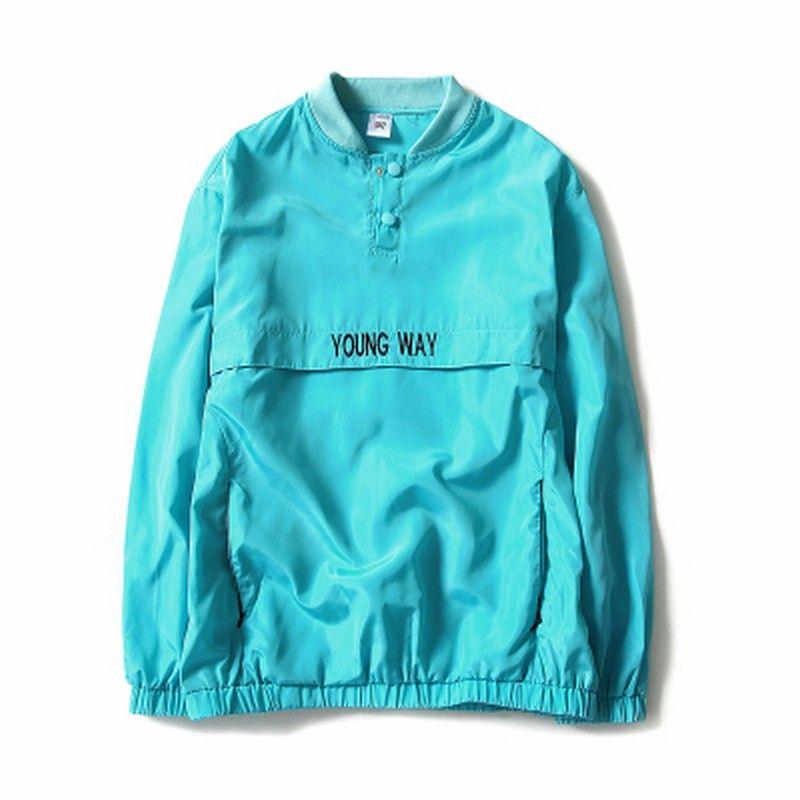 New reflective windbreaker Bomber Jacket Men Autumn Tide Brand off white Jacket chaqueta hombre NJK29