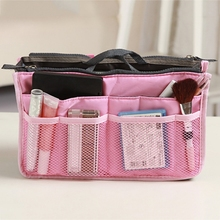 Table Wear New Women's Fashion Bag in Bags Cosmetic Storage Organizer Makeup Casual Travel Handbag 2017 Living Room Bags