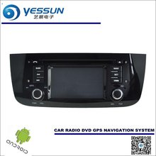 Car Android Navigation System For Fiat Punto / Fiat Linea 2012~2013 - Radio Stereo CD DVD Player GPS Navi HD Screen Multimedia