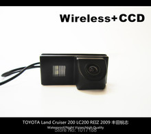HD!! WIFI camera Wireless Car Rear View Camera CCD Chip For TOYOTA Land Cruiser 200 LC200 REIZ 2009