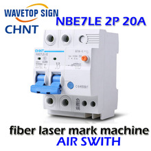 CHNT NBE7 2P 20A  AIR SWITCH /2P   Use for fiber laser mark machine