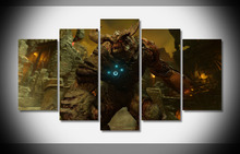 doom game doom 4 id software video games first person shooter special power Poster Not Framed Gallery wrap art print home wall