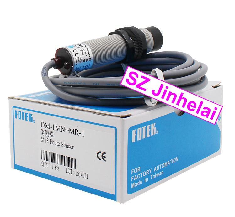 100% New and original FOTEK Photoelectric switch  DM-1MN+MR-1  NPN<br>