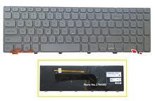 SSEA New US Keyboard English for Dell Inspiron 15 7537 7000 laptop Keyboard backlight