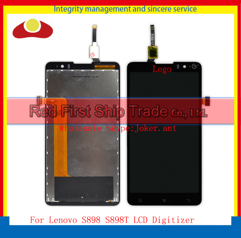 High Quality 5.3 For Lenovo S898 S898T Lcd Assembly Complete Display + Touch Screen Digitizer Sensor<br><br>Aliexpress
