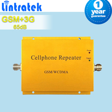 Free Ship 2G GSM 900 3G 2100 Cell Phone Repeater GSM 900mhz 3G UMTS 2100mhz Dual Band Mobile Signal Booster GSM 3G Cell Repeater
