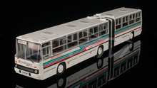 Diecast Bus Model Soviet Union Russian Ikarus-280.33M 1:43 (White/Stripes)+SMALL GIFT!!!!!(China)