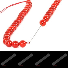 10Pcs/lot 23cm Big Eye Beading Threading Needles DIY Bracelet Jewelry String