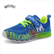 MHYONS New Arrival 2017 Autumn Fashion Kids Trainers for Boys Rubber Sole Solid Children Shoes Girls Sneakers Kids Sapato Menino