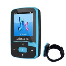 MP3 Player Bluetooth MP3 Clip ChenFec 8GB Digital Music Player Playback (Support up to 64GB) with Armband Sport MP3 Running(China)