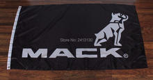 New Black Mack Truck Large Outdoor Banner Flag 3X5 Custom Flag