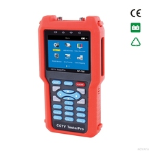 High Quality CCTV monitor testers CVBS signal cable tester tracker with multi-system color bar video generator NOYAFA NF-708(China)
