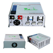 DECEN@24V2000W Peak Power 4000W Pure Sine Wave Solar Off Grid Inverter Built-in 40A MPPT Controller With Communication,LCD