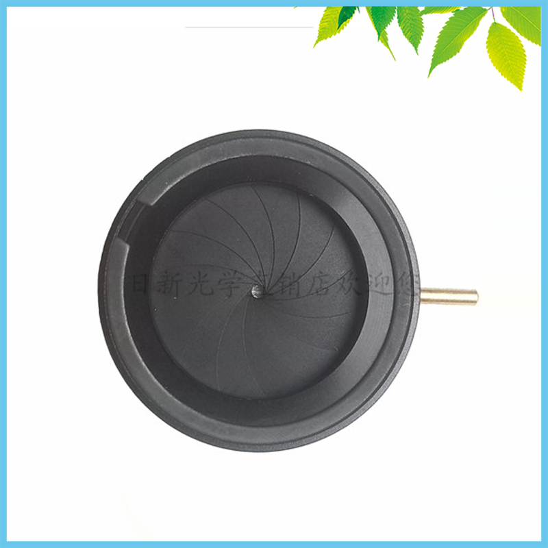 Manual Adjustable Optical Iris Diaphragm 1.5mm-25mm for Biological Microscope/Camera/Laser with 14 Blades<br>