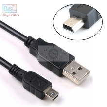 Camera USB UC-E4 UC-E5 IFC-150U IFC-200U IFC-300PCU IFC-400PCU Data Cable Cord For Canon Nikon Sony Olympus
