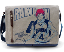 Anime Bag  Kuroko no Basuke Durable Messenger Bag School Bag For Students Kids Children Boys Girls Canvas Bags