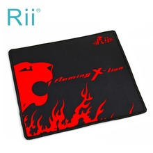 2016 Hot selling New Mousepad Rii Red Lion Gaming Mouse Pads for PC Computer cyber game Mice Mat speed Edition