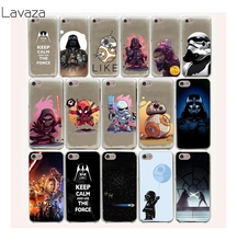 Lavaza 17FF Star Wars Hard Case For iPhone 8 7 6 6s Plus 5 5s 5C SE 4 4S cover X 10(China)